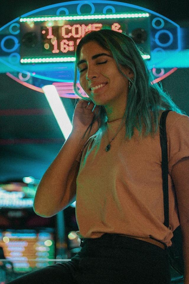 #freetoedit #arcadegame #bluehair #hellojune