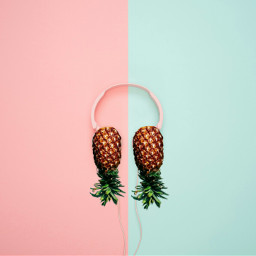 freetoedit pineapple🍍 hellojune colourful summer2018 day