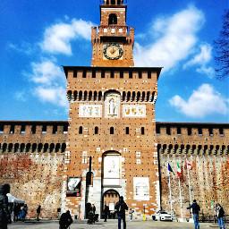 cityscape milano castellosforzesco discover italy pccityscape