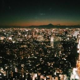 tokyo fuji city night pccityscape
