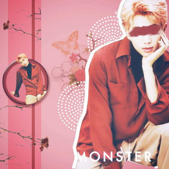 Namjoon 💫 For @yoonxjoon 💕 hope you'll like it 😍  I always hide his eyes 👀 probably bcoz it's too intense for me 😩   Credits ~ Namjoon png by hallyumi  Butterfly overlay @editing-needs101  Rest ctto  Tags #rm #namjoon #bts #kpop #kpopedit #btsedit #namjoonedit #kimnamjoon