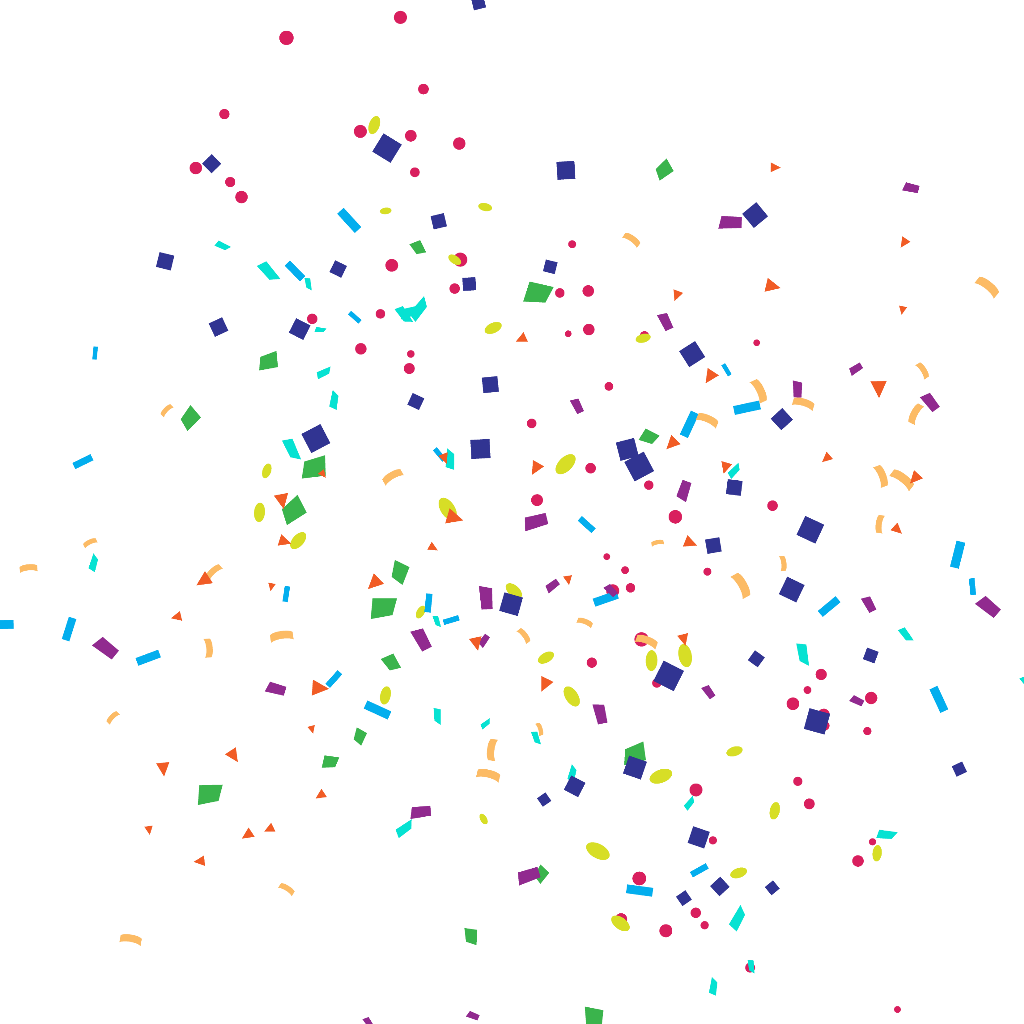 confetti party celebrate parties celebrations