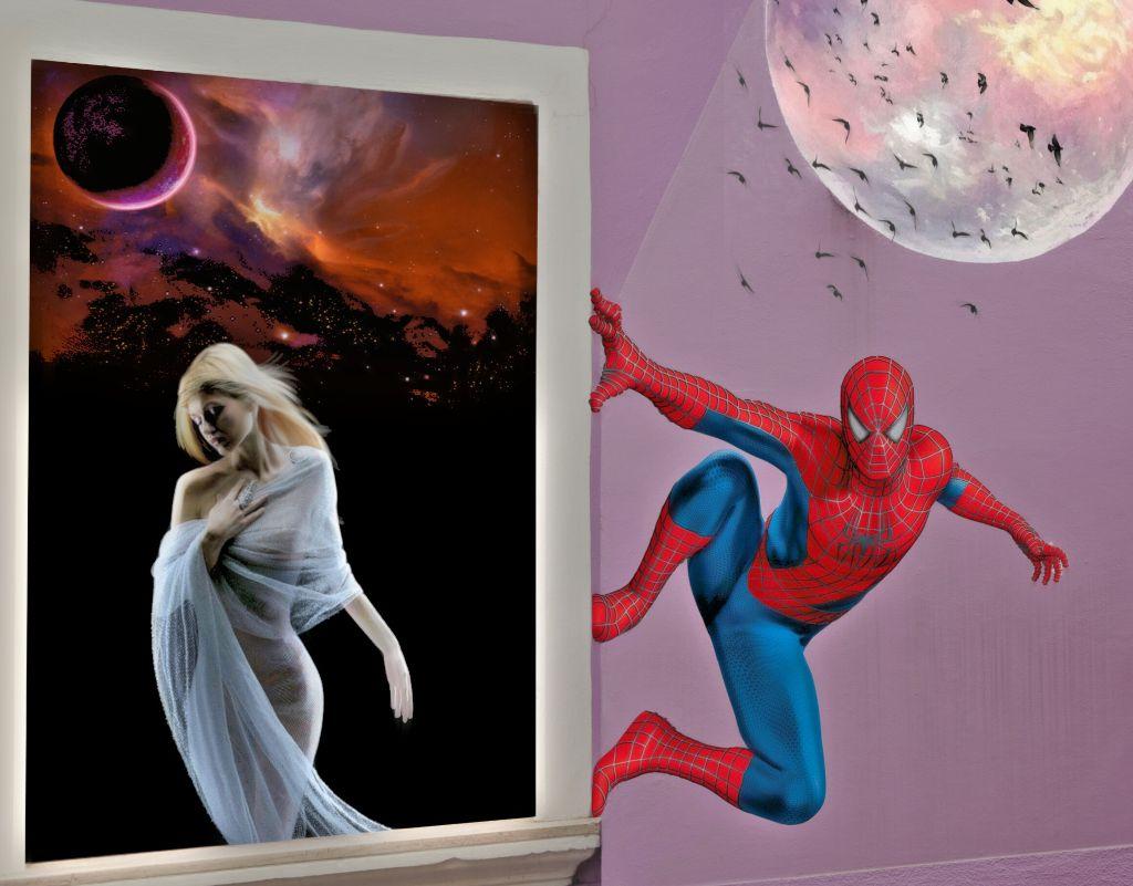 #freetoedit #remix #remixit #picsart #interesting #spiderman
