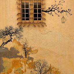 freetoedit wall wallart japaneseart trees