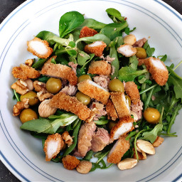freetoedit food foodporn salad chicken