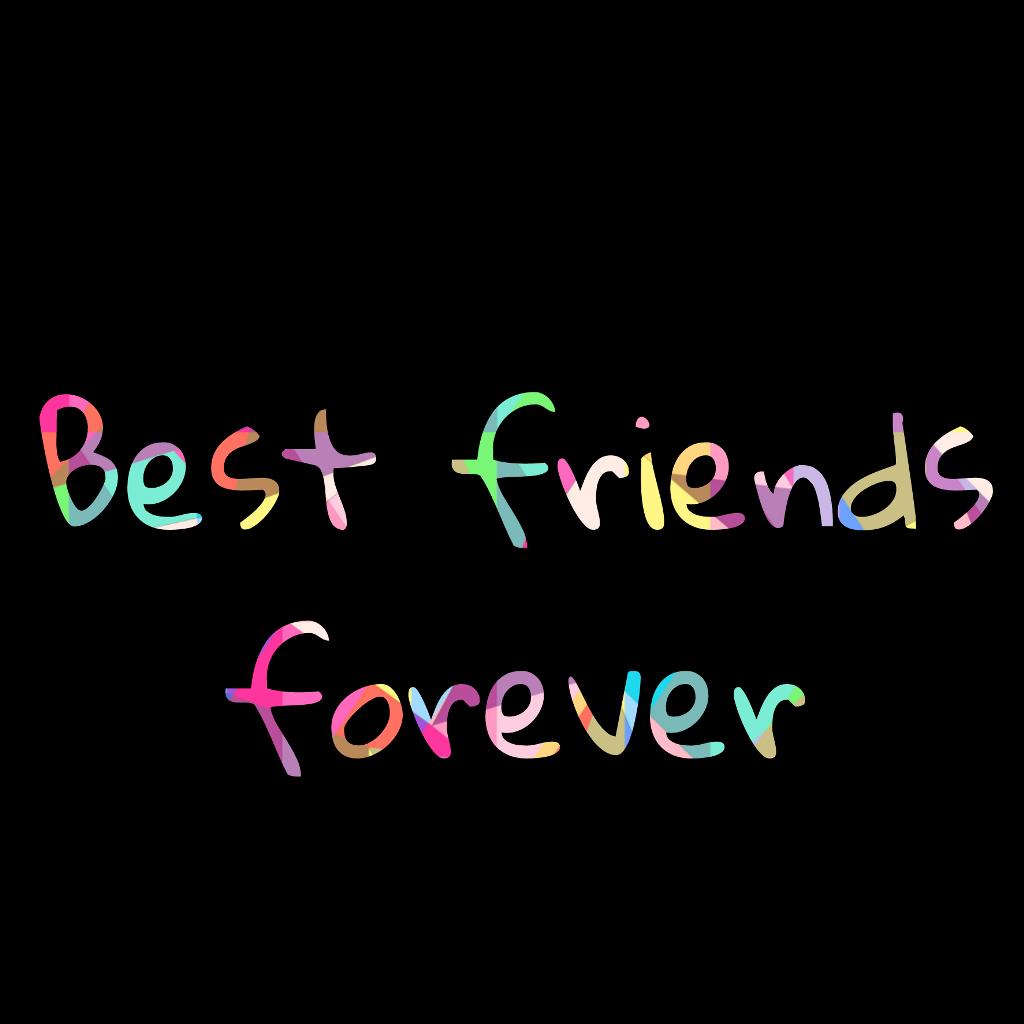 Best Friends Forever Bestfriends Declaration Love
