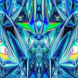 freetoedit trippy foil art artwork