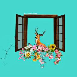 freetoedit flowercrown flowersremix pinky roses