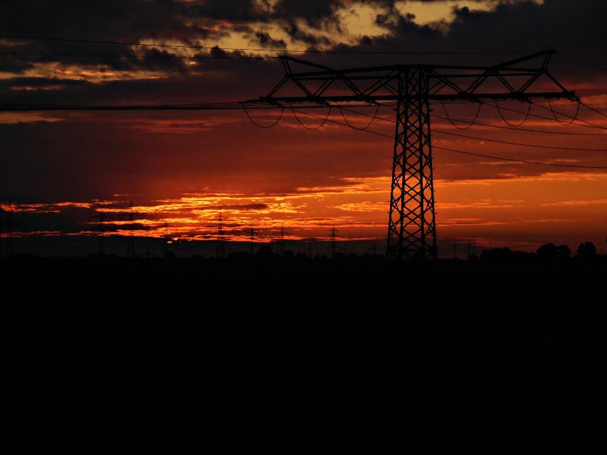 #sunset #morning #nature #sun #sky