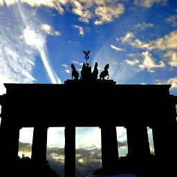 berlin brademburgertor black architecture germany