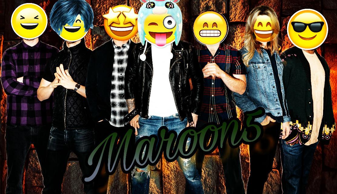#freetoedit #maroon5 #smile