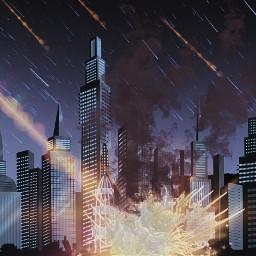 freetoedit smokebrush ircmeteorday meteorday lensflare