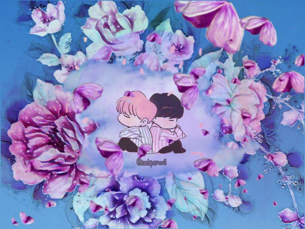 Freetoedit Yoonmin Moon Flowers Nube Cloud