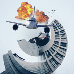 freetoedit plane explotion buldings big