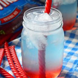 4thofjuly fourthofjuly patriotic redwhiteandblue drink