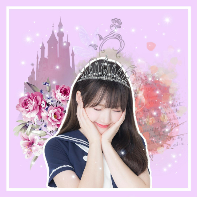 Yerin edit requested by @blackbarry_edits Thank you for requesting. I'm so sorry it turned into a weird Disney princess concept. I can redo or do another idol if you want.   ✨REQUESTS ARE OPEN   #freetoedit #kpop #kpopedit #kpopedits #idol #gfriend #yerin #gfriendyerin