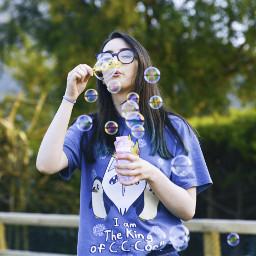 freetoedit editchallenge colourful bubbles stickersedit