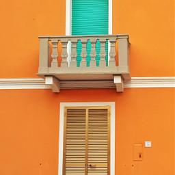 freetoedit orange doorsandwindows colorful pcbalcony pccolororange pcfacades pccolorsofthecity