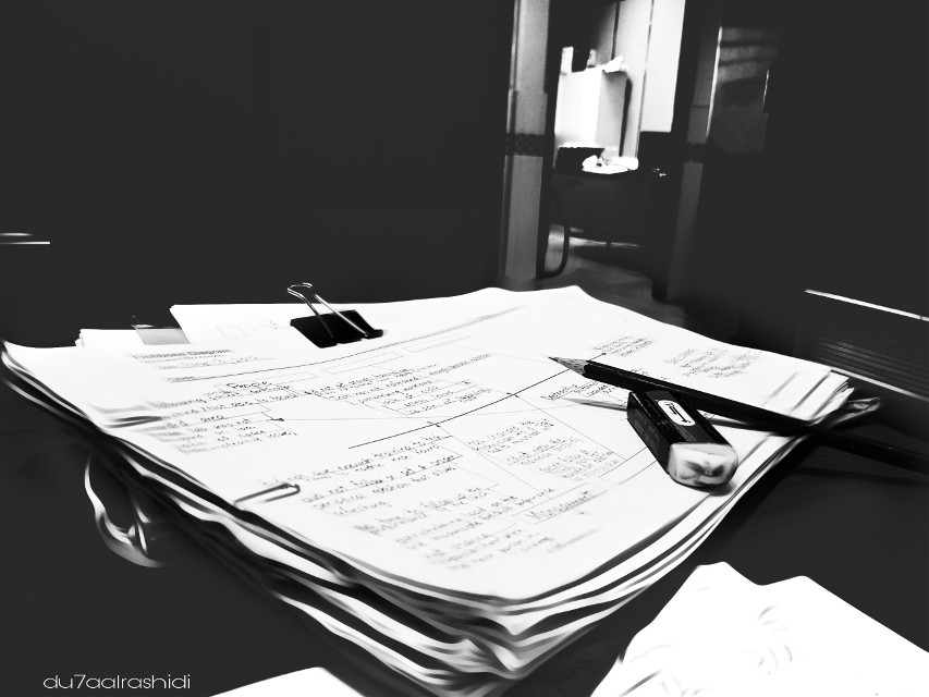 Work work work  Trying cam of Note8  Not bad .. but missing my Note4 😂 New smart phones sometimes hard to handle  #b&w #blackandwhite #drama #work #paperwork #load #pencil #diagram #officelife