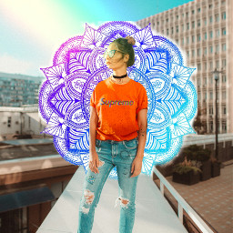 freetoedit colors colorful girlpower mandalas