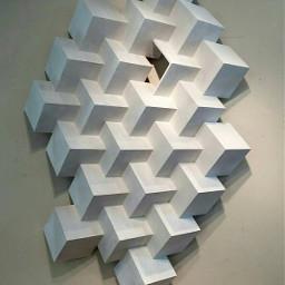 modern cubism cubes pwashburn
