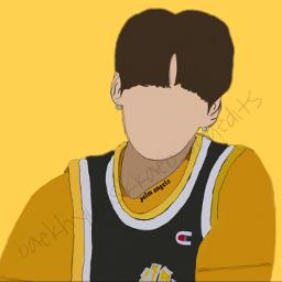 jungkook bts outlinedraw
