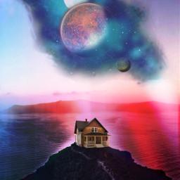 picsart madewithpicsart planets colorfull freetoedit