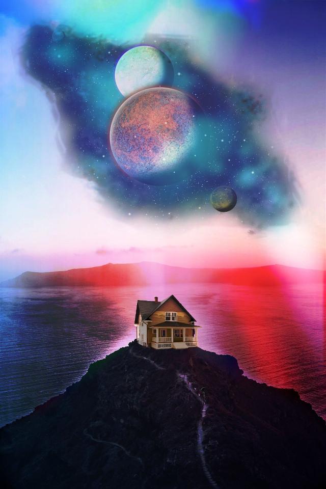#picsart #madewithpicsart #planets ##colorfull happy week 🙏🏻