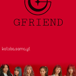 freetoedit gfriend kpop girlband wallpaper