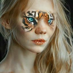 freetoedit animaleye tiger