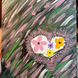 flowers withlove paintedbyme