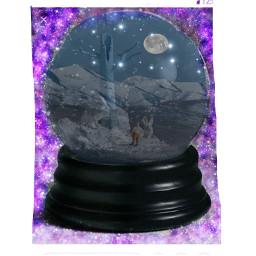 freetoedit lune moon love boule