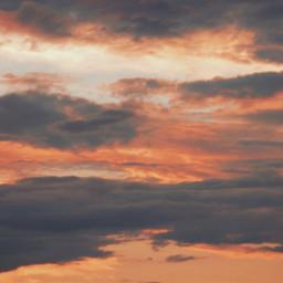 myphotography sky clouds sunset interesting freetoedit