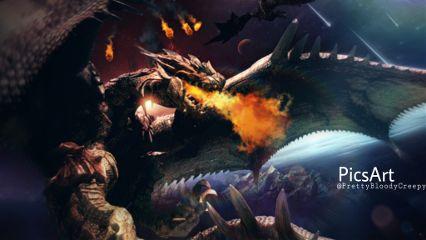 Freetoedit Dragon Dragons Epic Cool
