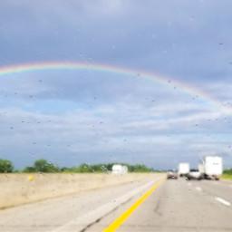 roadways rainbows reflections takemeback travel pctakemebacktuesday
