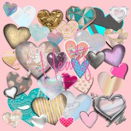 freetoedit heart hearts