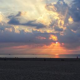 freetoedit beach sunset pccolorfulsummer beachday