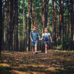 freetoedit kids love fun forest
