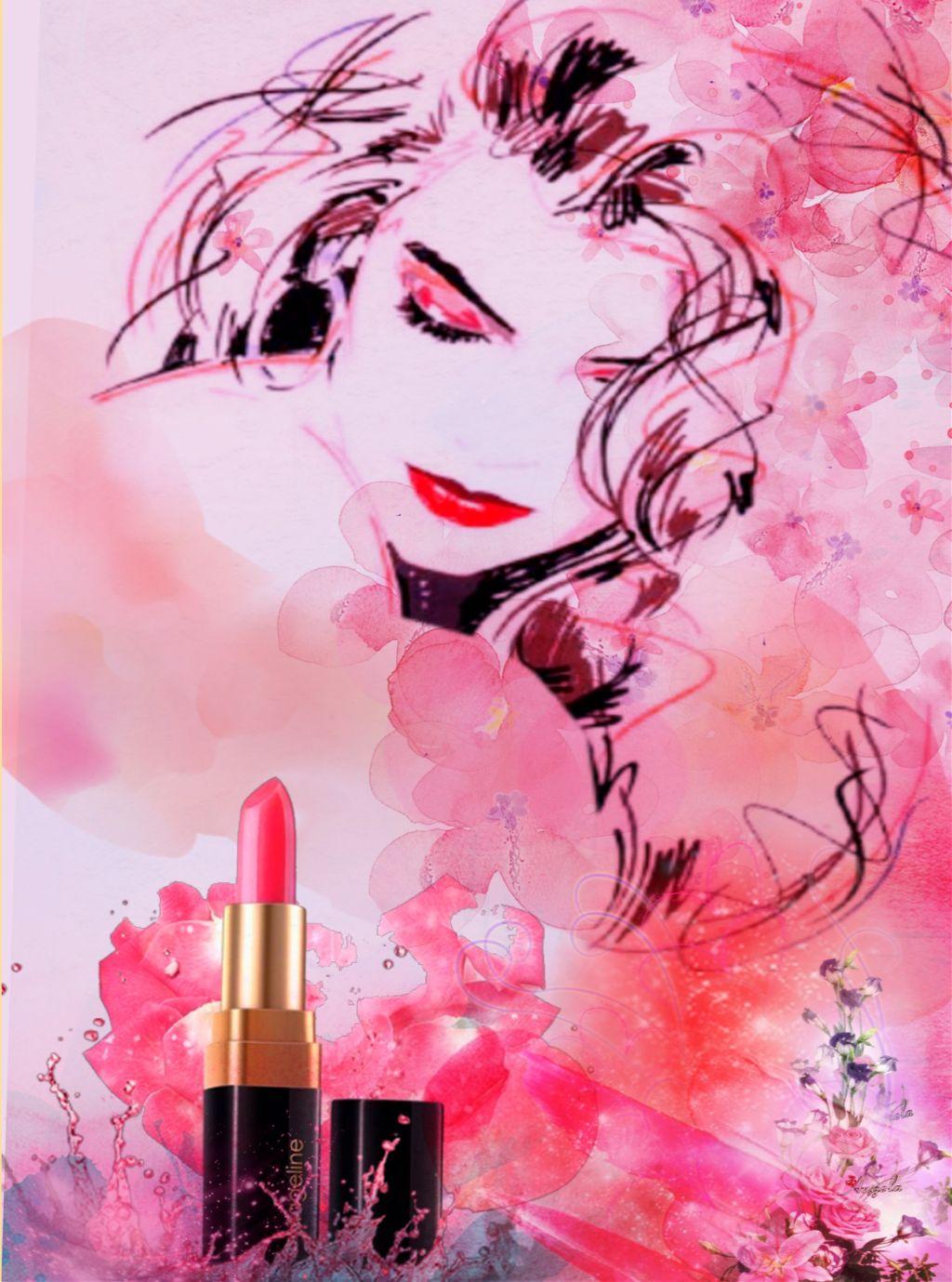 #freetoedit #lipstickday #irclipstickday  #watercolors #doubleexposure #layersonlayers #drawtools #adjusttools #newfilters #stickerart #myart #myedit #madewithpicsart