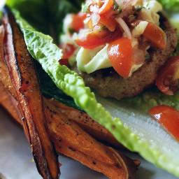 summertime glutenfree healthyliving goodfood burgerandfries