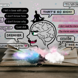 freetoedit remix brain mixedeffects yinyang