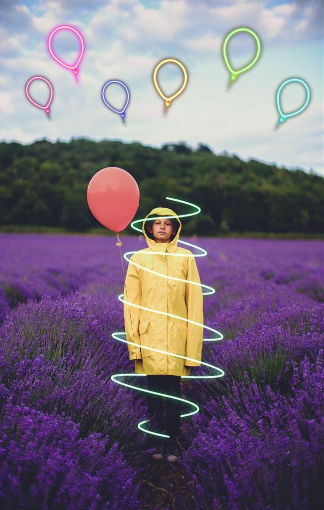 #freetoedit #boy #child #forest #balloons #summer #moments #edit #amazing #madewithpicsart #picsart #remixit