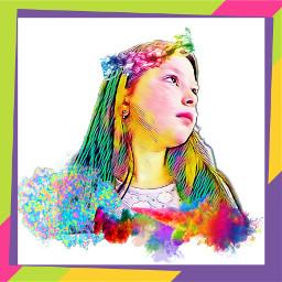 freetoedit брызгикраски картина lovepicsart😙💙 lovepicsart