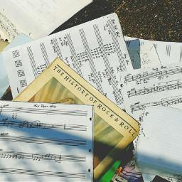 founditems rockandroll music sheetmusic glorydays