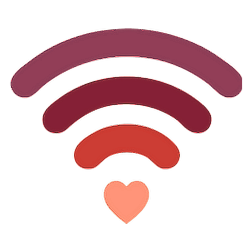 Cœur Heart Wifi Co Amour Sticker By