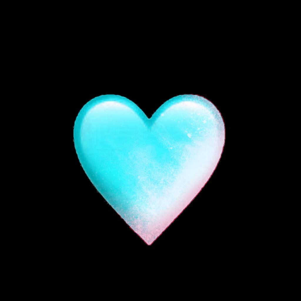 heart hearts blue emoji emojis pink smoke