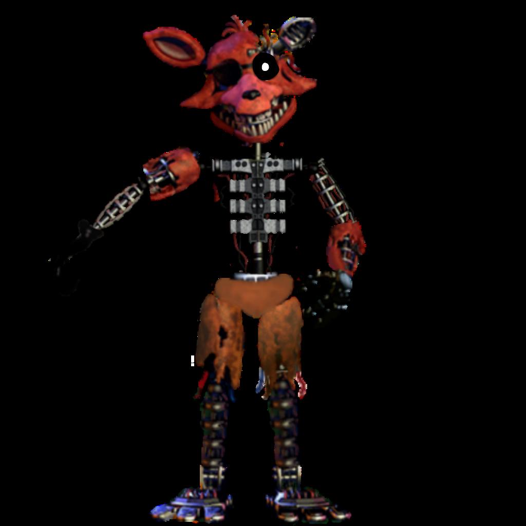 ignited foxy - Sticker by fnaf...