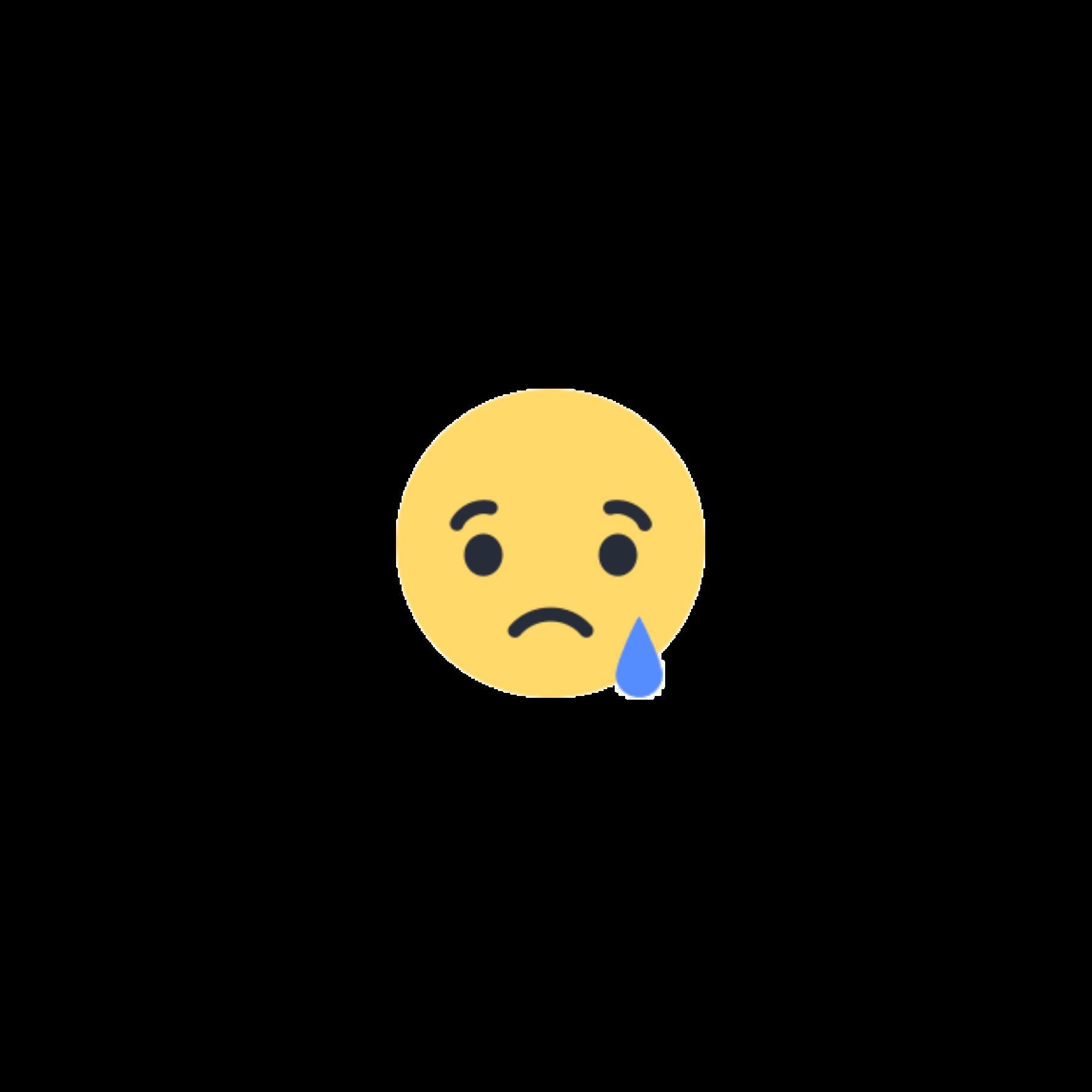 sad emoticon on facebook - HD1773×1773