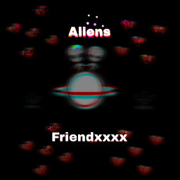 aliens friendxxxx glitch tumblr freetoedit