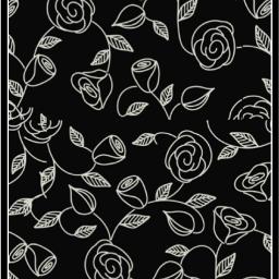 freetoedit background wallpaper floralpattern blackandwhite